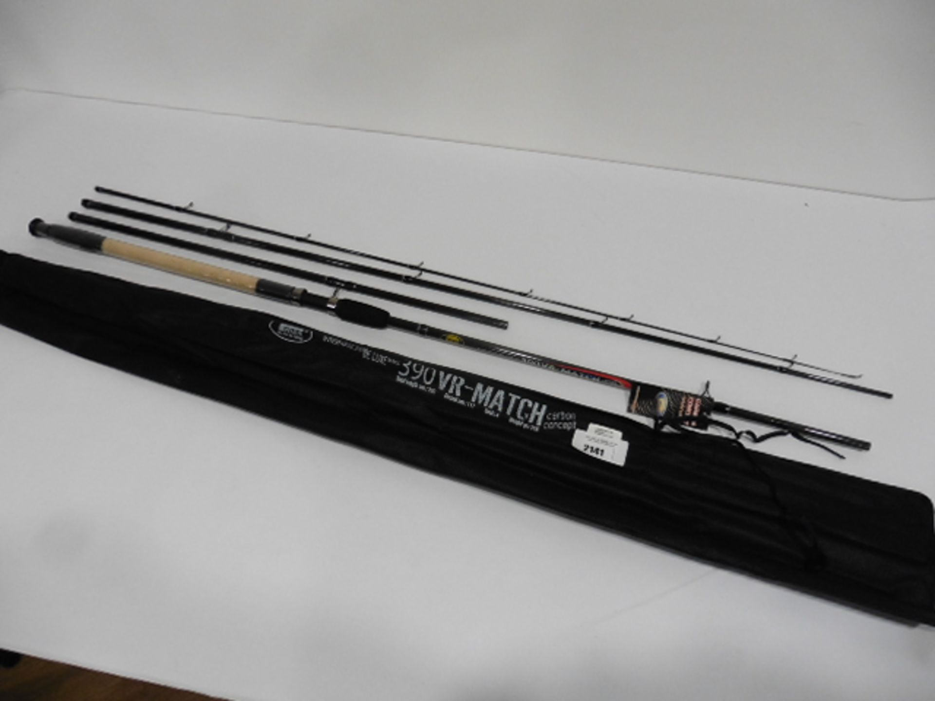 Lineaeffe Deluxe 390VR carbon concept 4 piece Match rod