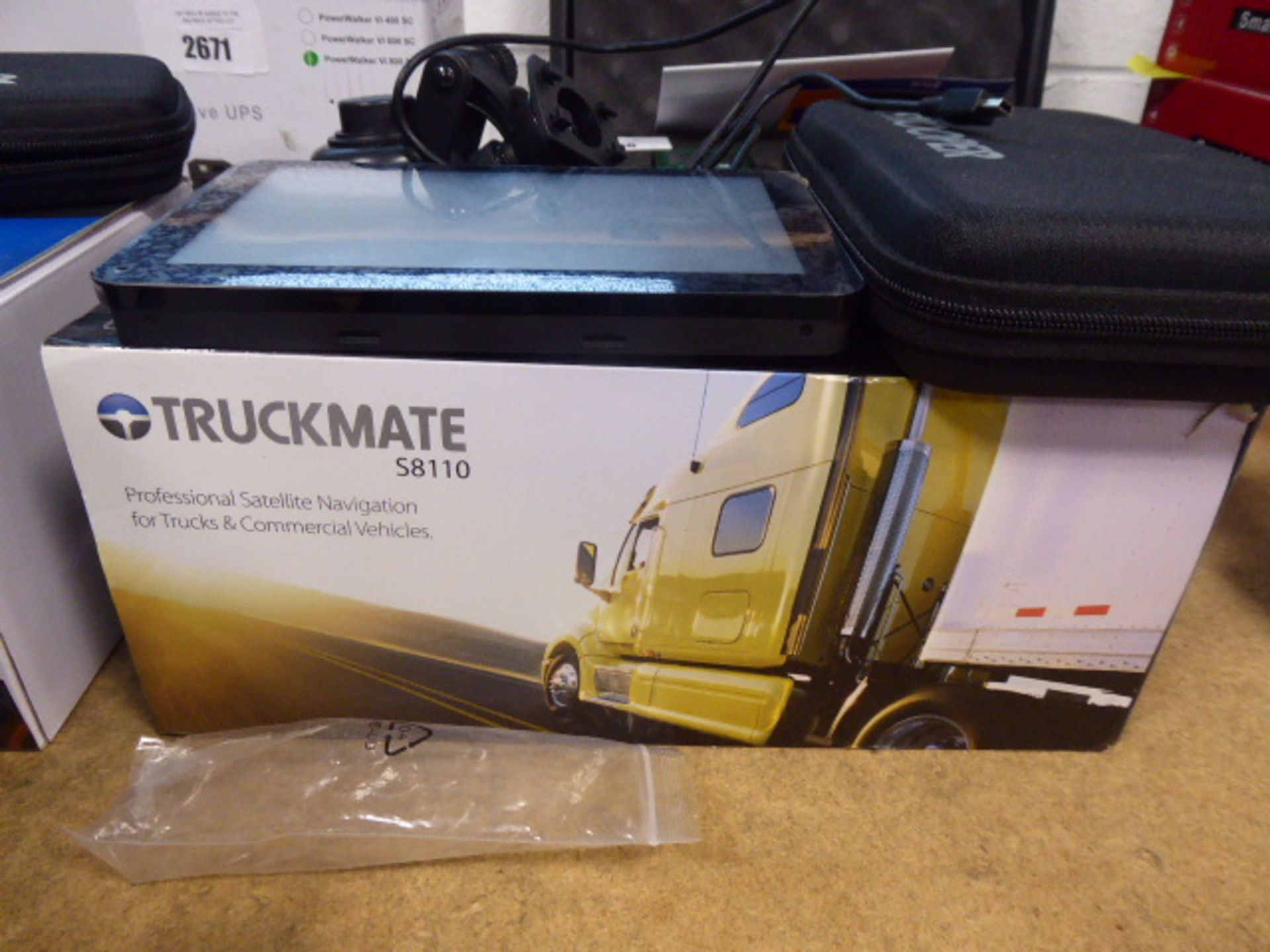 Snooper truckmate S8110 sat nav system with box - Image 2 of 3