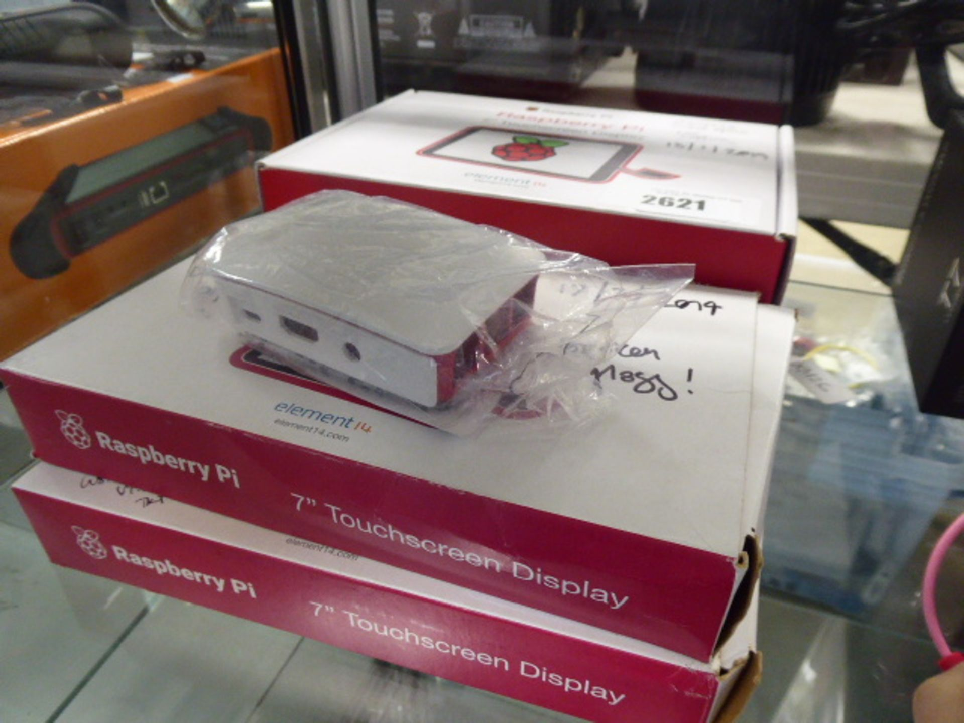 2183 Rasberry Pie 7'' touch screen displays, sold for spares and repairs