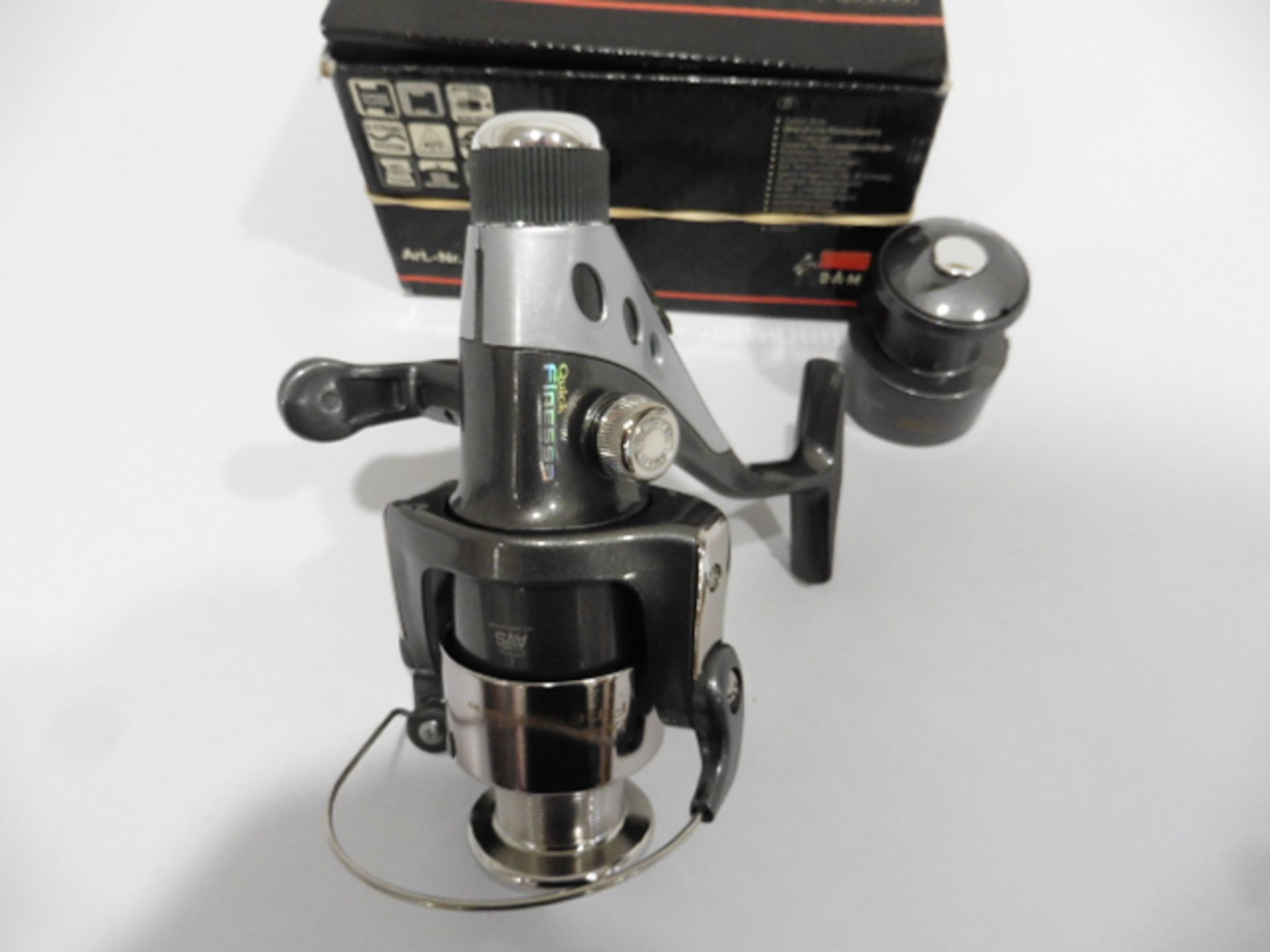 DAM quick Finessa 440RD Reel with spare spool - Image 2 of 2