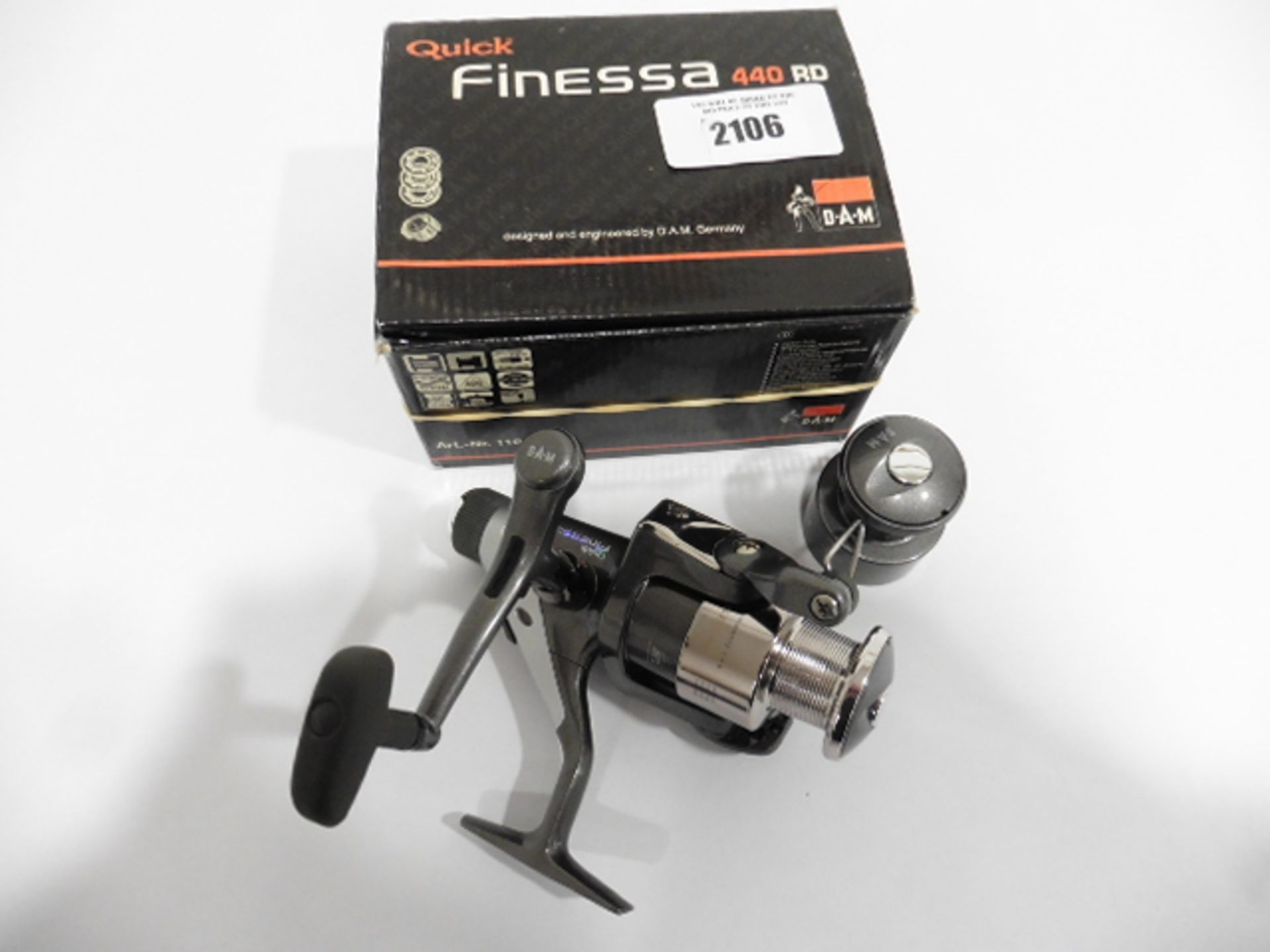 DAM quick Finessa 440RD Reel with spare spool