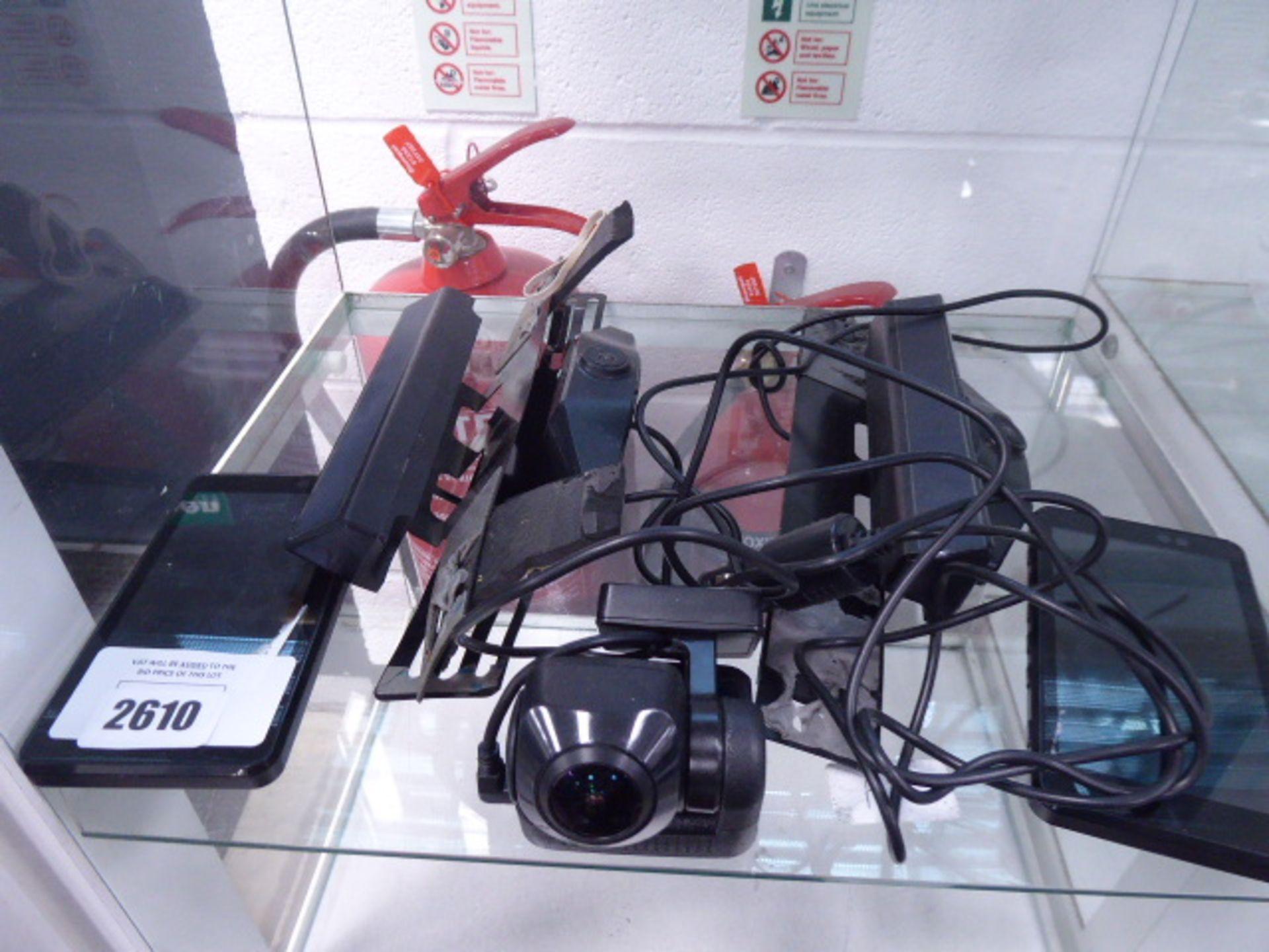 Part set of dash cam reversing camera kits