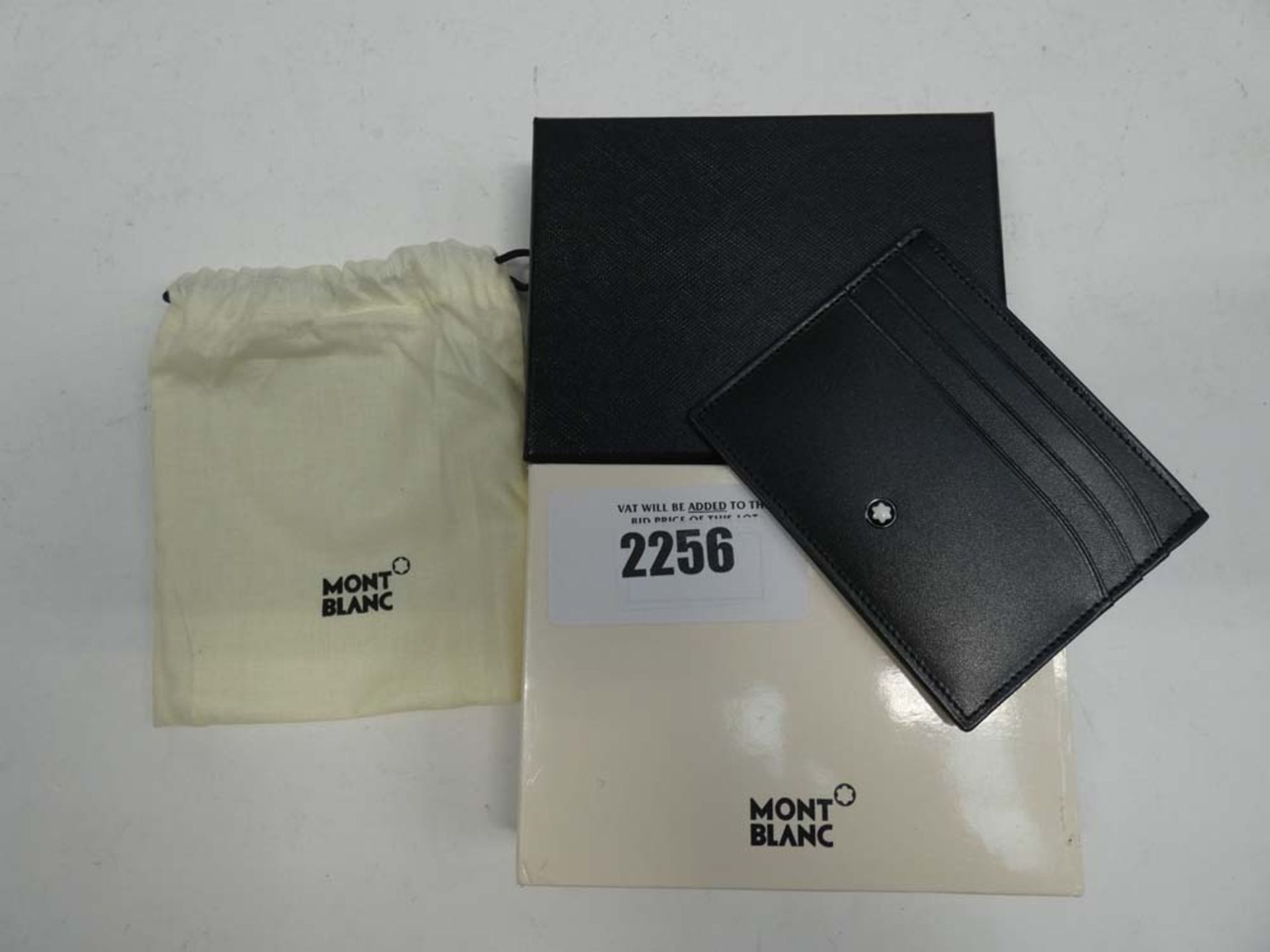 Mont Blank Meisterstuck 6 pocket leather wallet with box