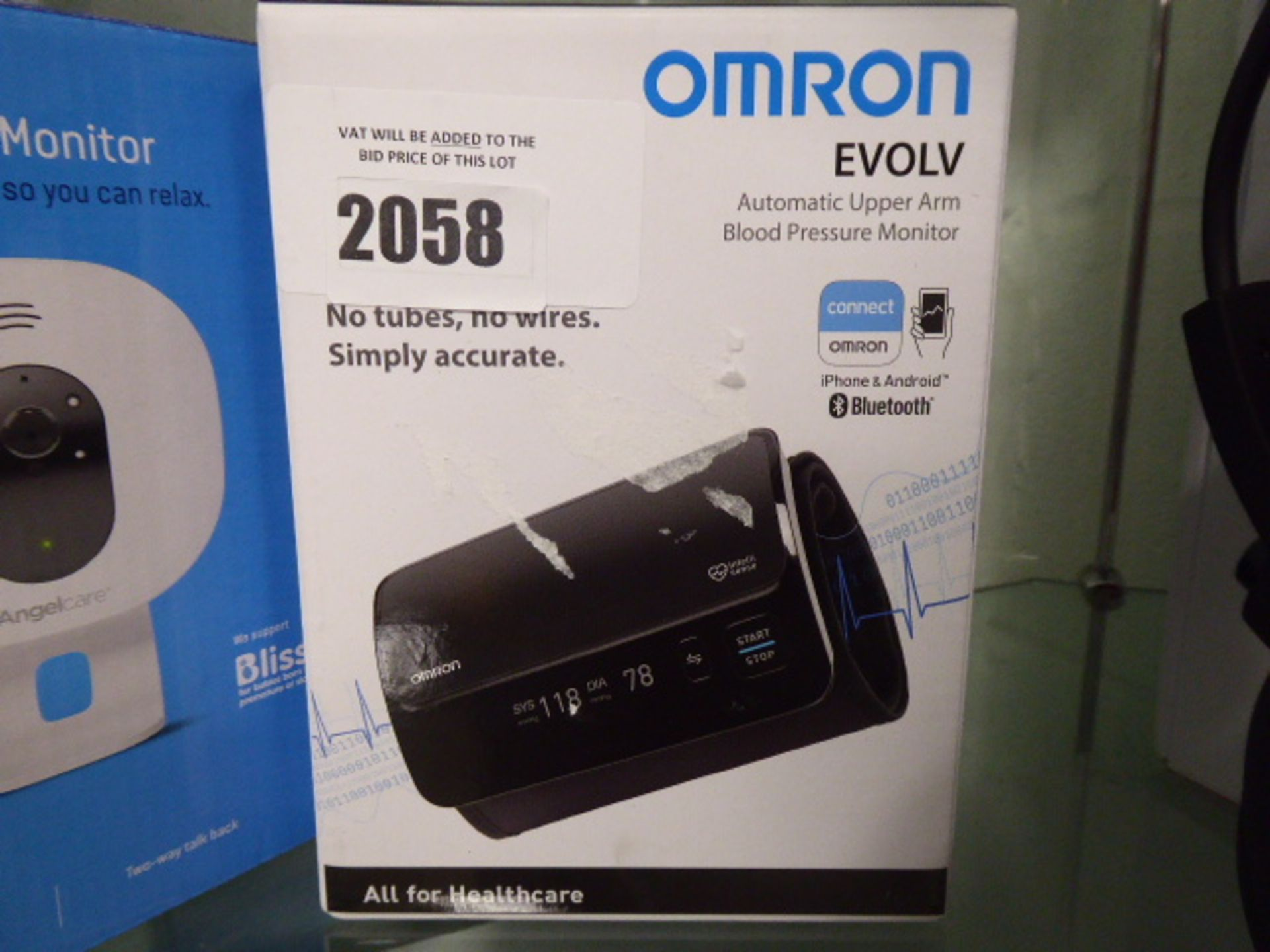 Omron Evolv automatic upper arm blood pressure monitor