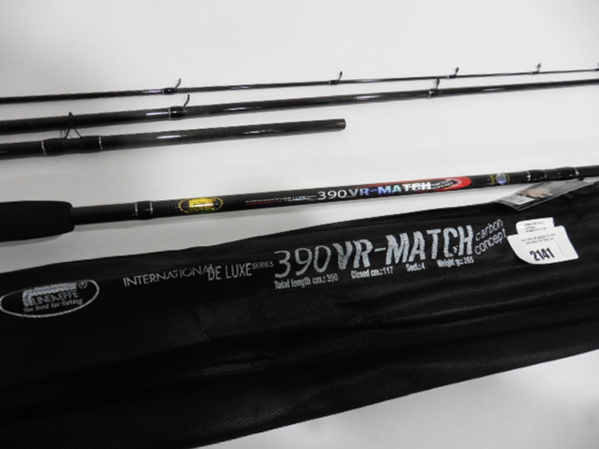 Lineaeffe Deluxe 390VR carbon concept 4 piece Match rod - Image 2 of 2
