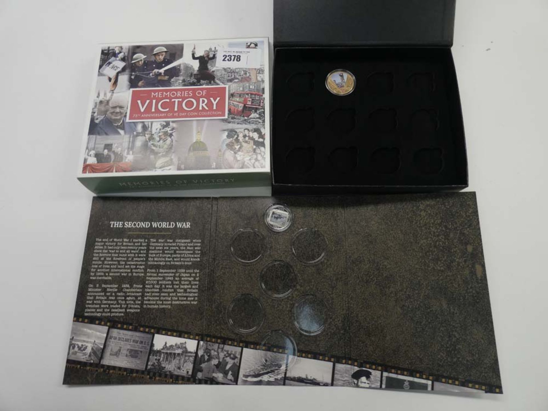 Memories of Victory 75th Anniversary Edition and Road to Victory starter sets