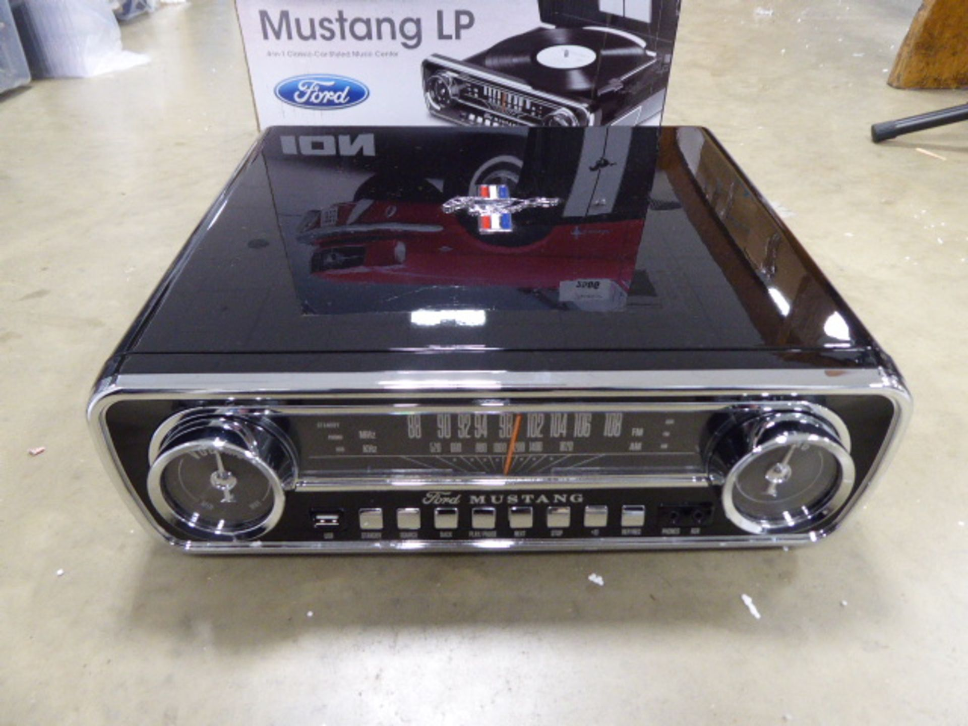 Ion mustang LP 4 in 1 classic car style music sensor in box - Image 2 of 3