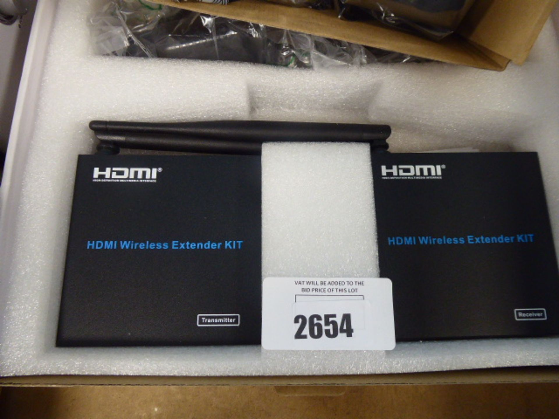 Pro signal HDMI RX receiver extender kit and an HDMI wireless extender kit in box - Image 2 of 3