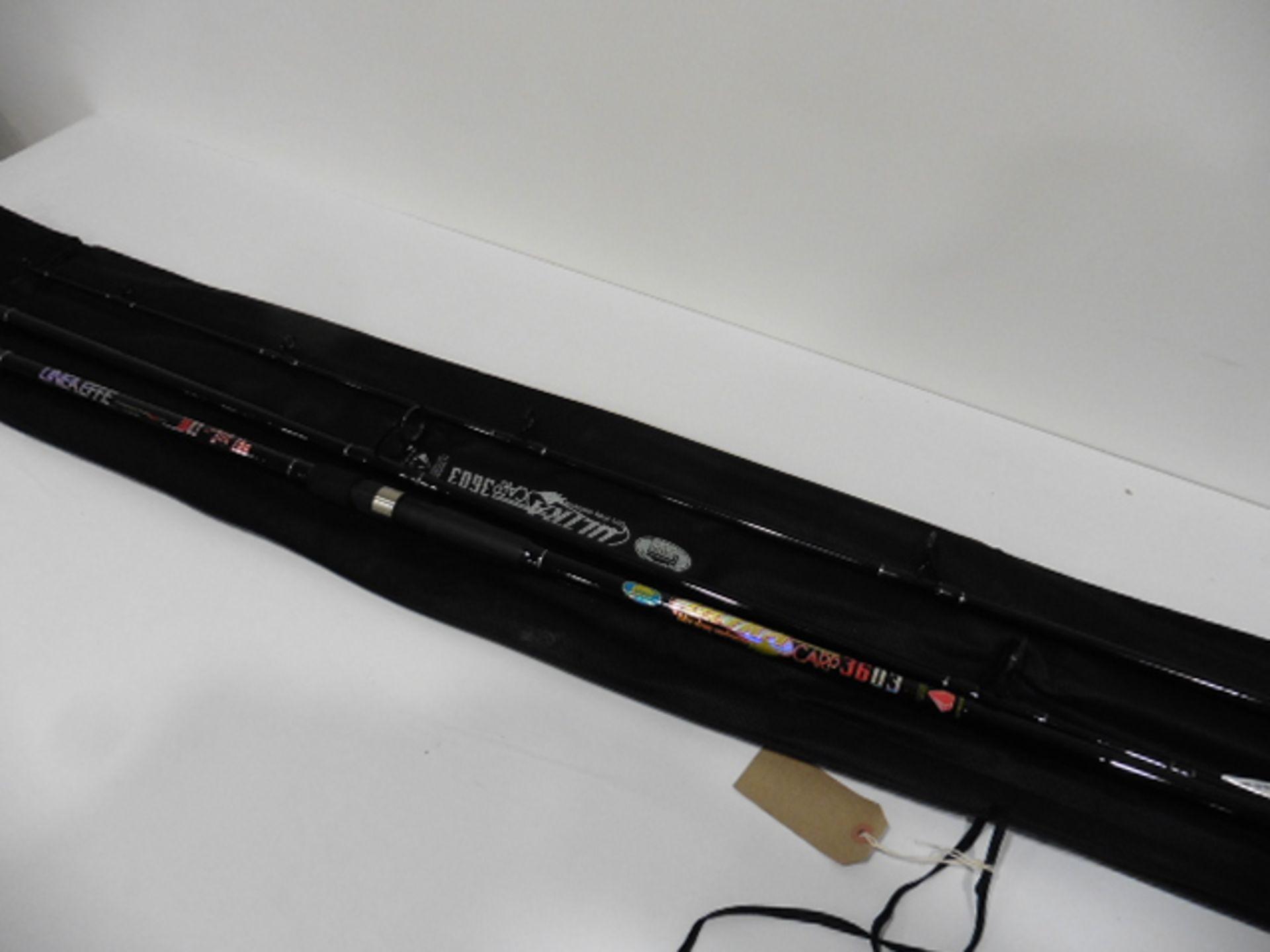 Ultra 3.6m 3 piece carp rod 3.5lbs - Image 3 of 3