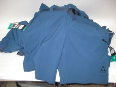 Bag containing 18 Jerry gents shorts in blue sizes mainly 38''