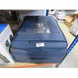 3272 2 piece The Roc London fabric suitcase set
