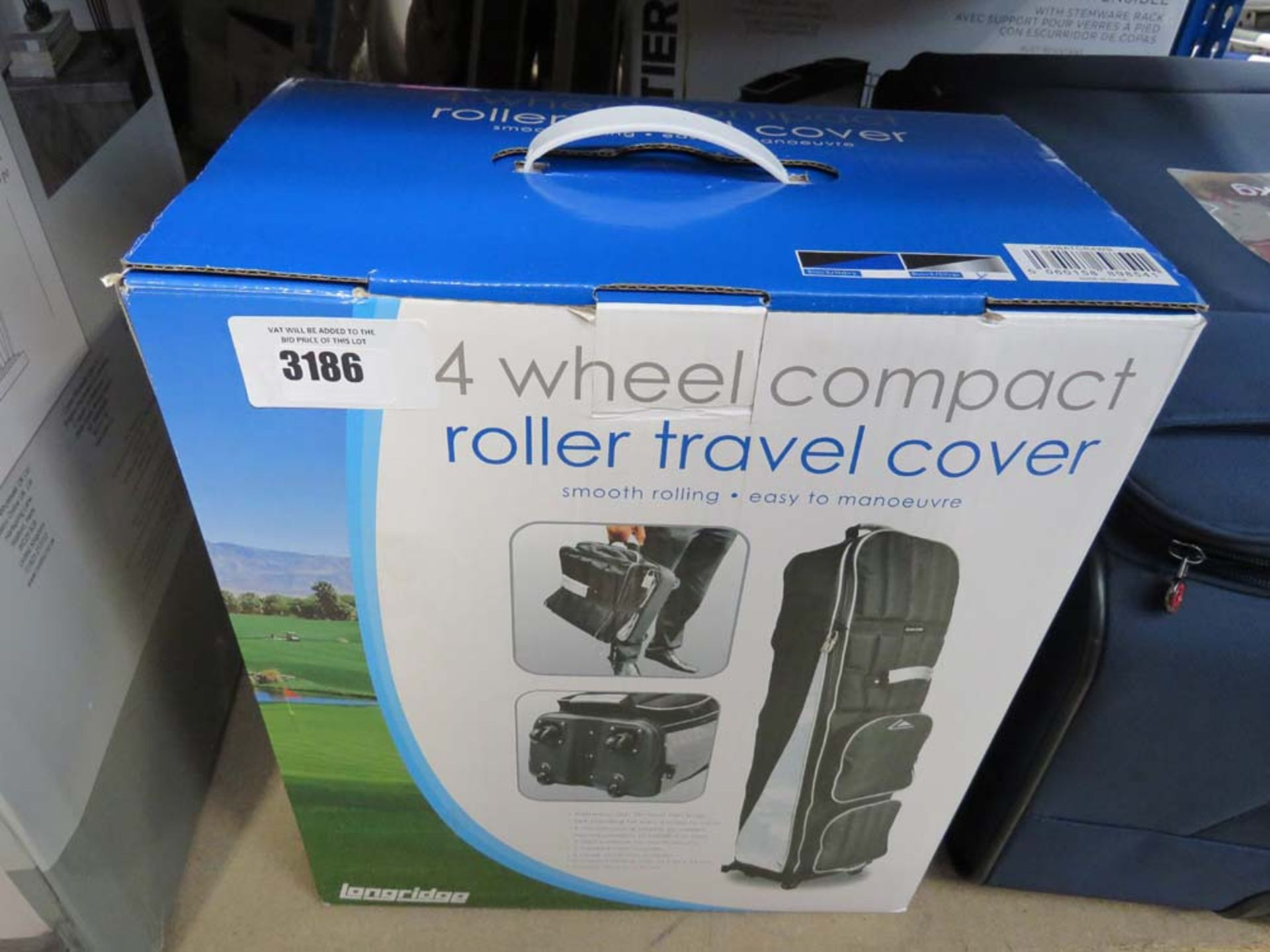 Boxed 4 wheel compact roller