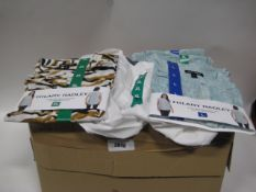 Box containing approximately 50 white ladies blouses by Jack New York together with Hillary Radley