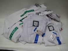 Bag containing 40 cotton and linen Jacks of New York Girlfriend white blouses