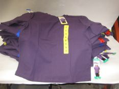Bag containing ladies Fila purple T-shirts - various sizes S-XL