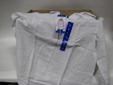 Box of Jack New York ladies white blouses cotton and linen mix
