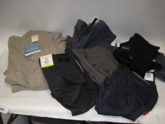 15 pairs of gents trousers and jeans to include Doccers, Hagger, etc - various sizes and colours