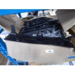 Box of Mercedes number plate mounting brackets