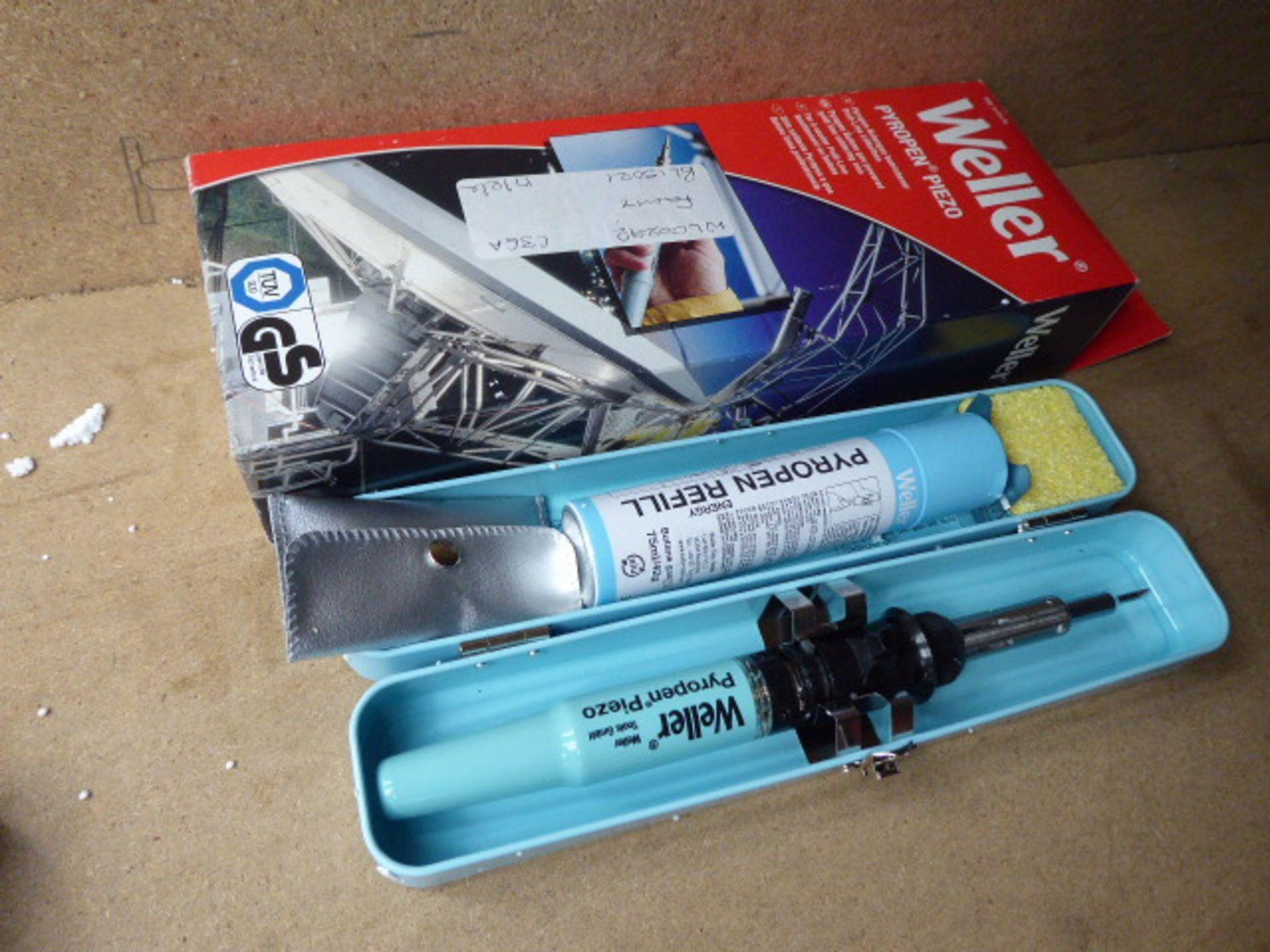 2 Weller braising tools