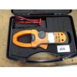 Tenma digital clamp meter