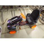 Nerf 4 wheel pedal go kart
