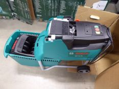 Bosch boxed AFT 25D electric garden shredder