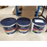 3 tins of Boss Stick rapid setting cement