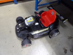Cometic electric 4 wheel childs racing car (no charger)