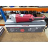 Boxed 9'' Duratool angle grinder