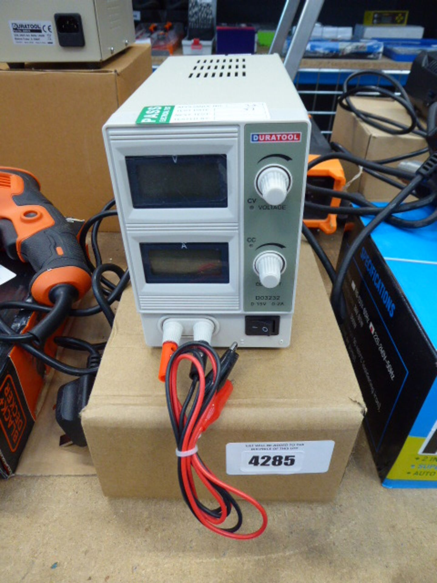 Small Duratool power supply