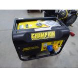 Champion petrol powered generator