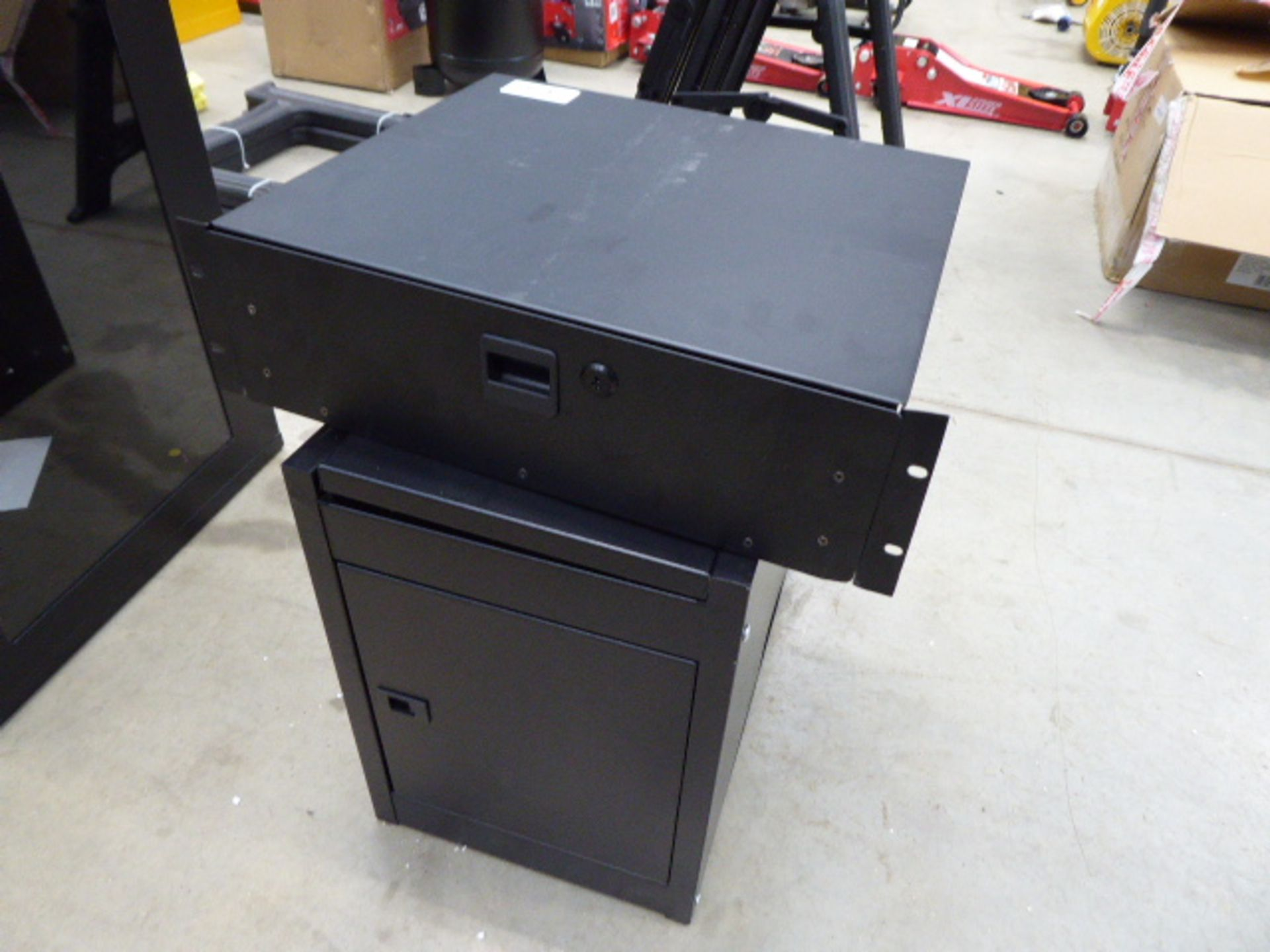 Small comms cabinet and 1 other