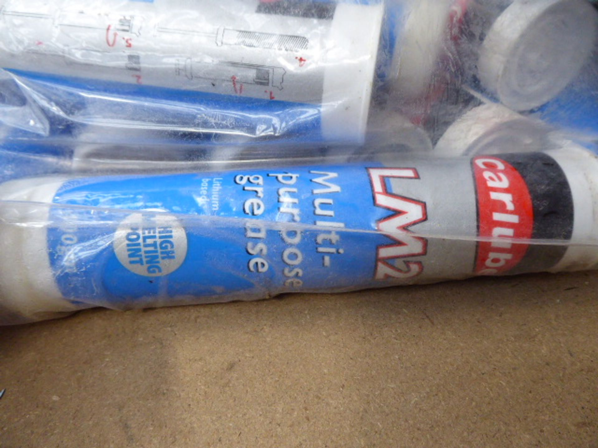 Bag of approx 10 tubes of multi purpose grease - Image 2 of 2