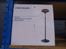 Pro-Elec Quartz patio heater (boxed)