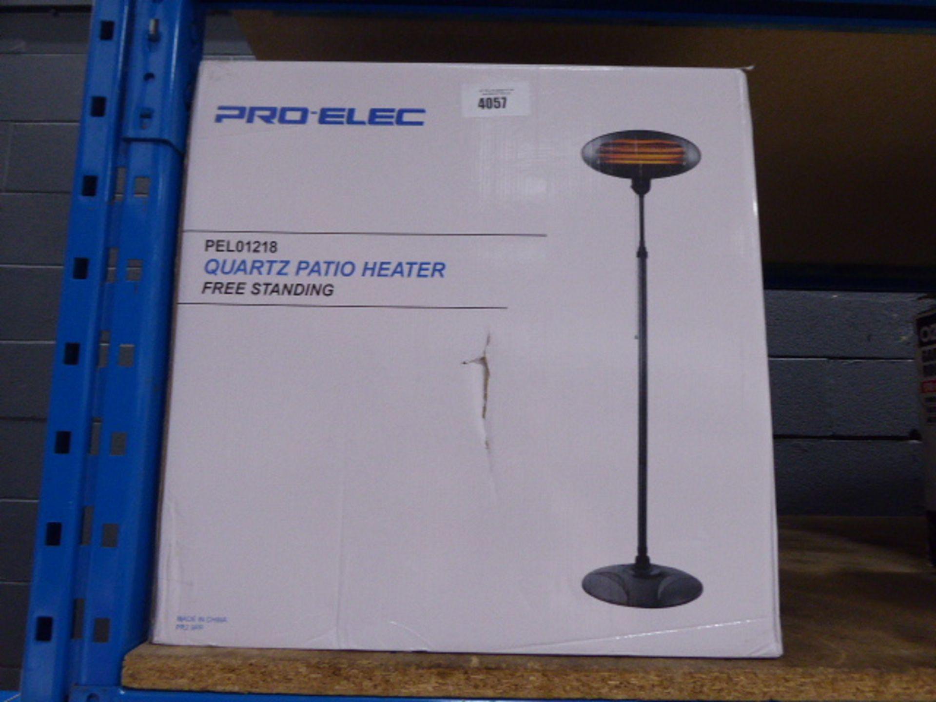 Pro-Elec Quartz patio heater (boxed)
