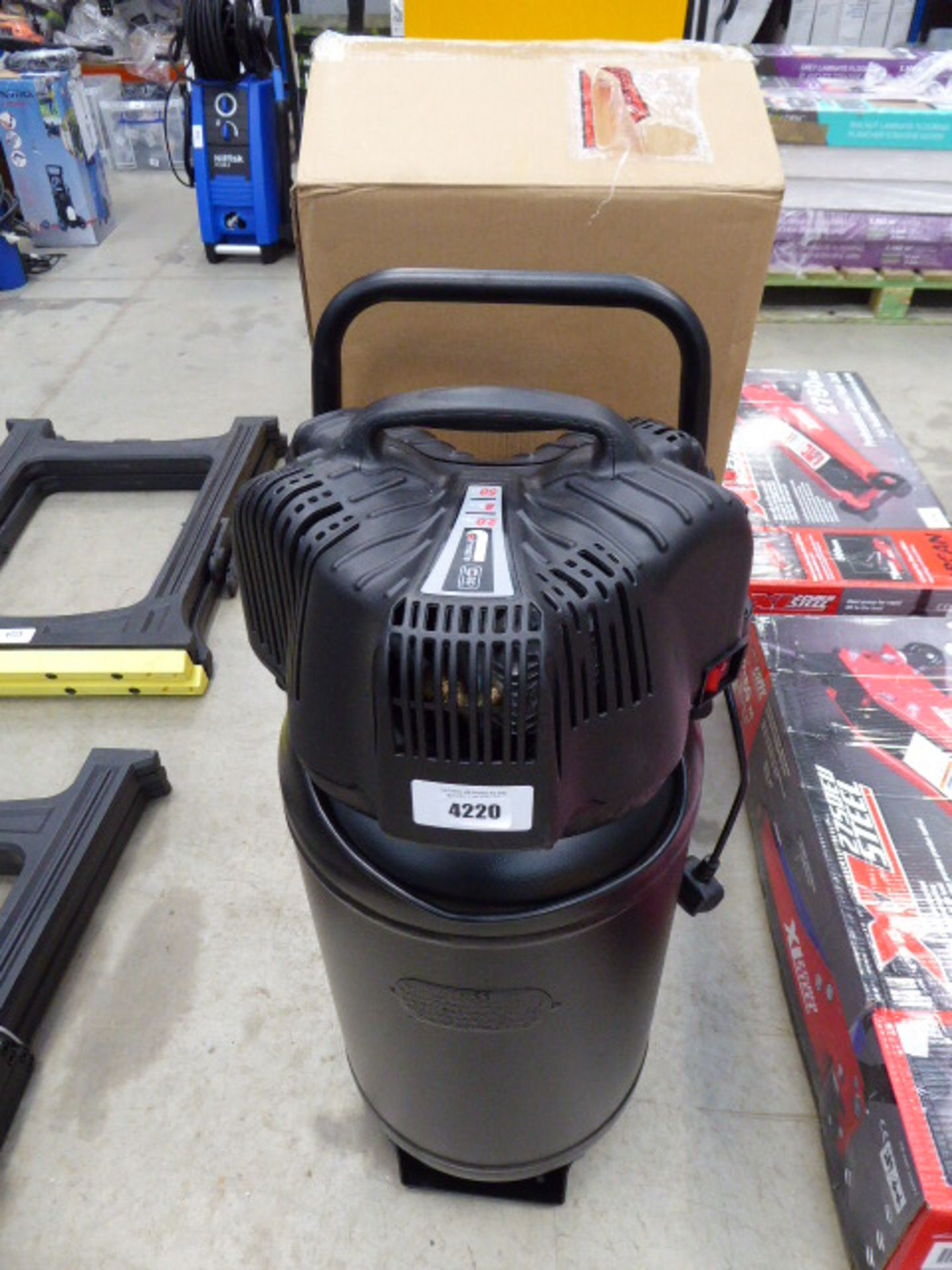 SIP upright 50 litre electric compressor
