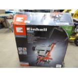 Boxed Einhell Classic petrol powered rotavator