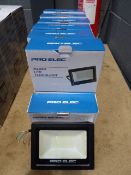 14 boxes of Pro-Elec LED floodlights