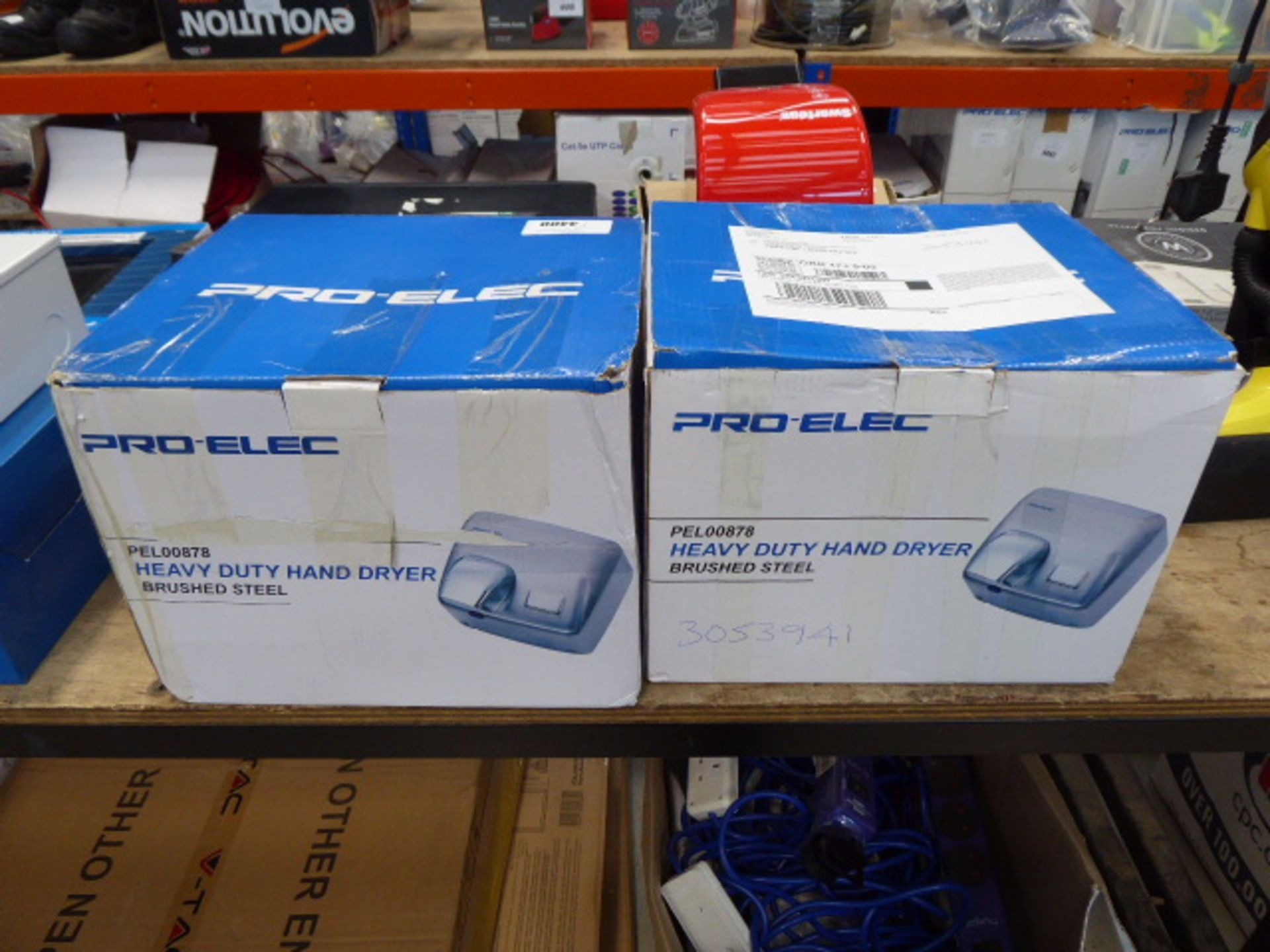2 boxed heavy duty hand dryers - Image 2 of 2