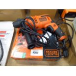 Boxed Black & Decker drill
