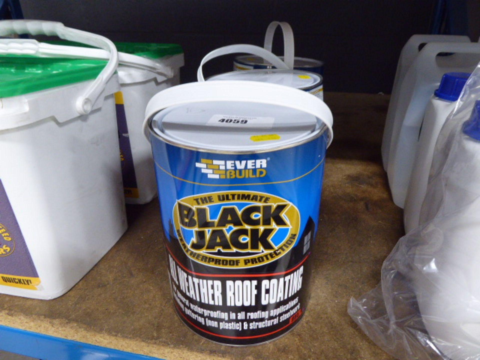 3 tins of Black Jack waterproof protection