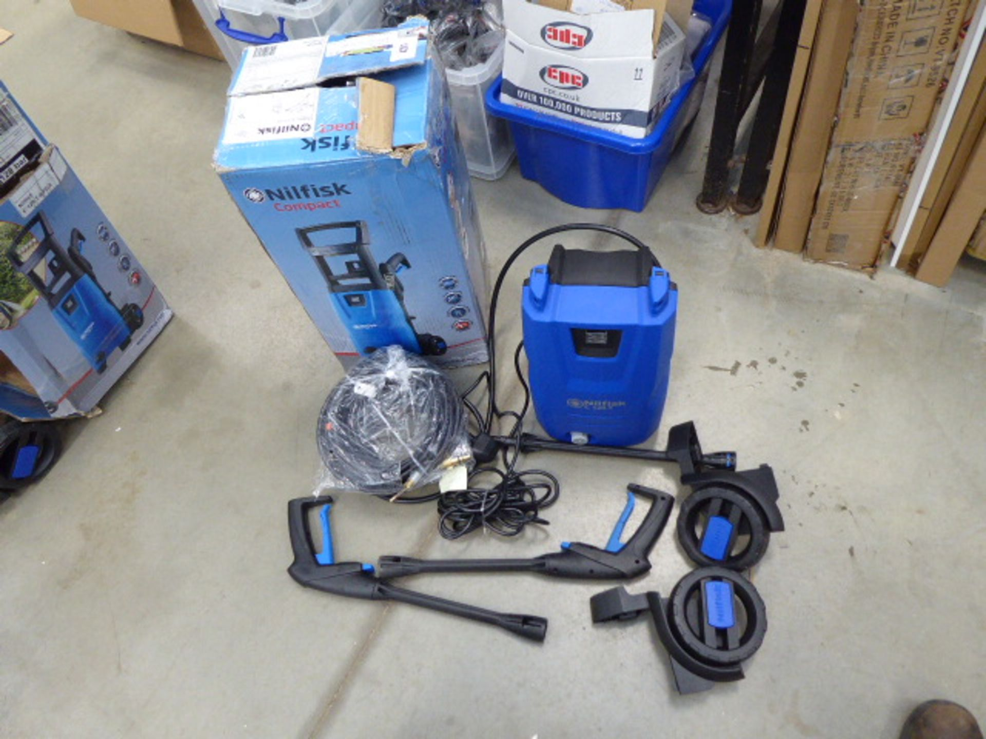 Small Nilfisk boxed pressure washer