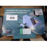 Temperature controlled soldering station kit