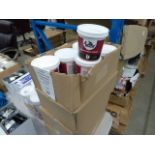 24 tubs of lightweight non shrinking filler