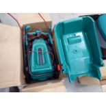 Boxed Bosch electric Rotak lawnmower
