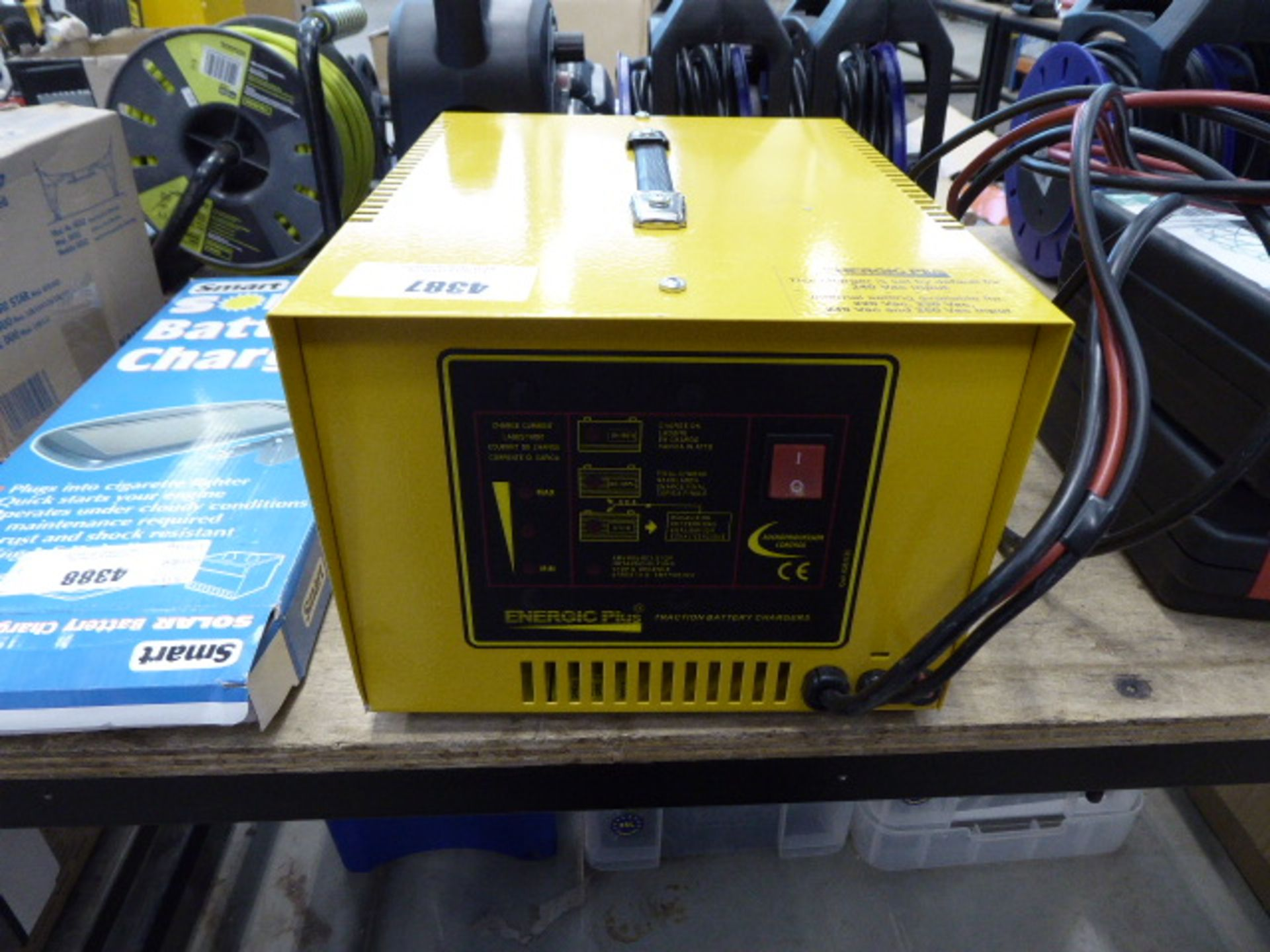 Energic Plus traction battery charger