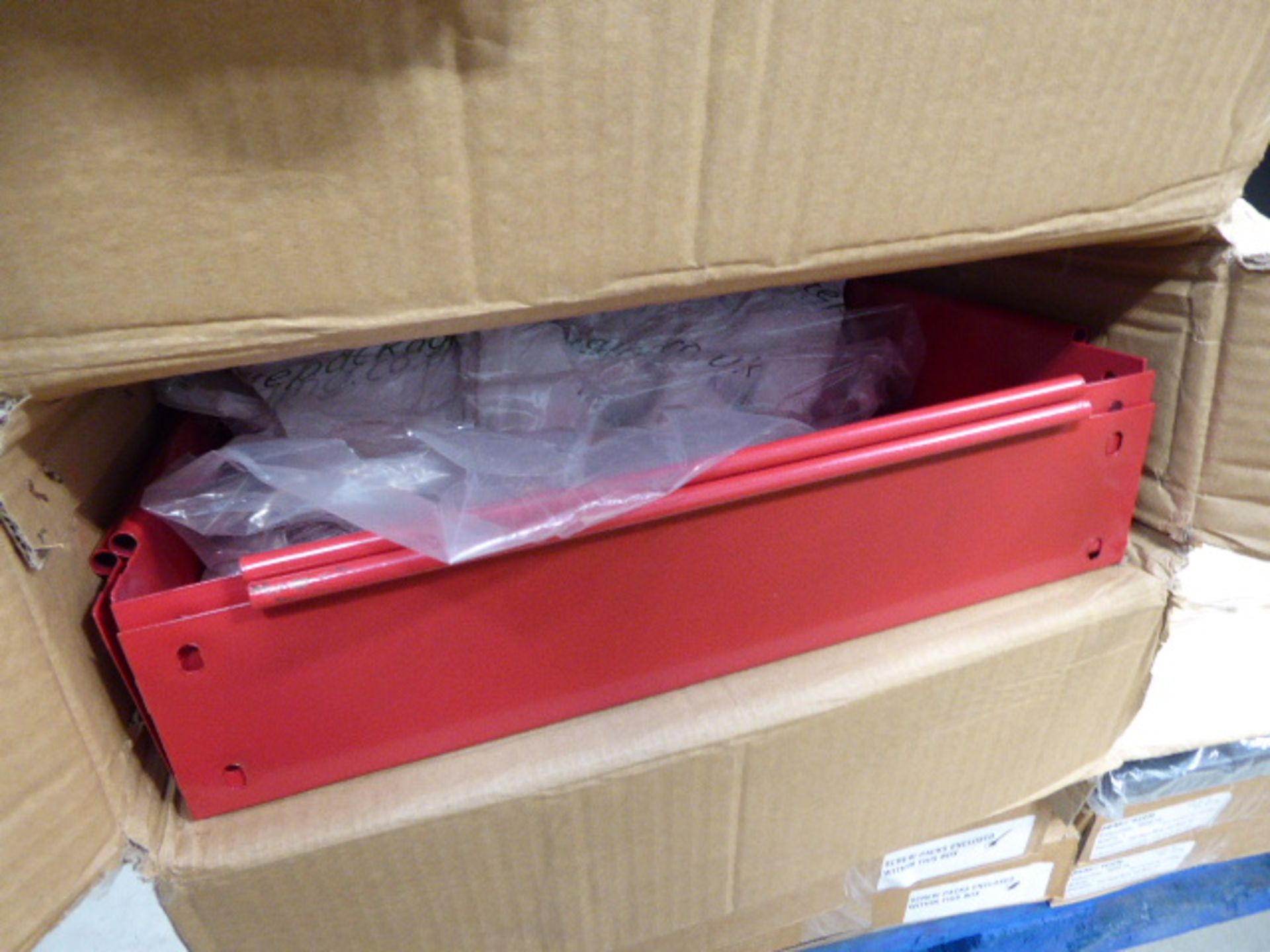 Pallet of comms cabinet parts - Image 4 of 5
