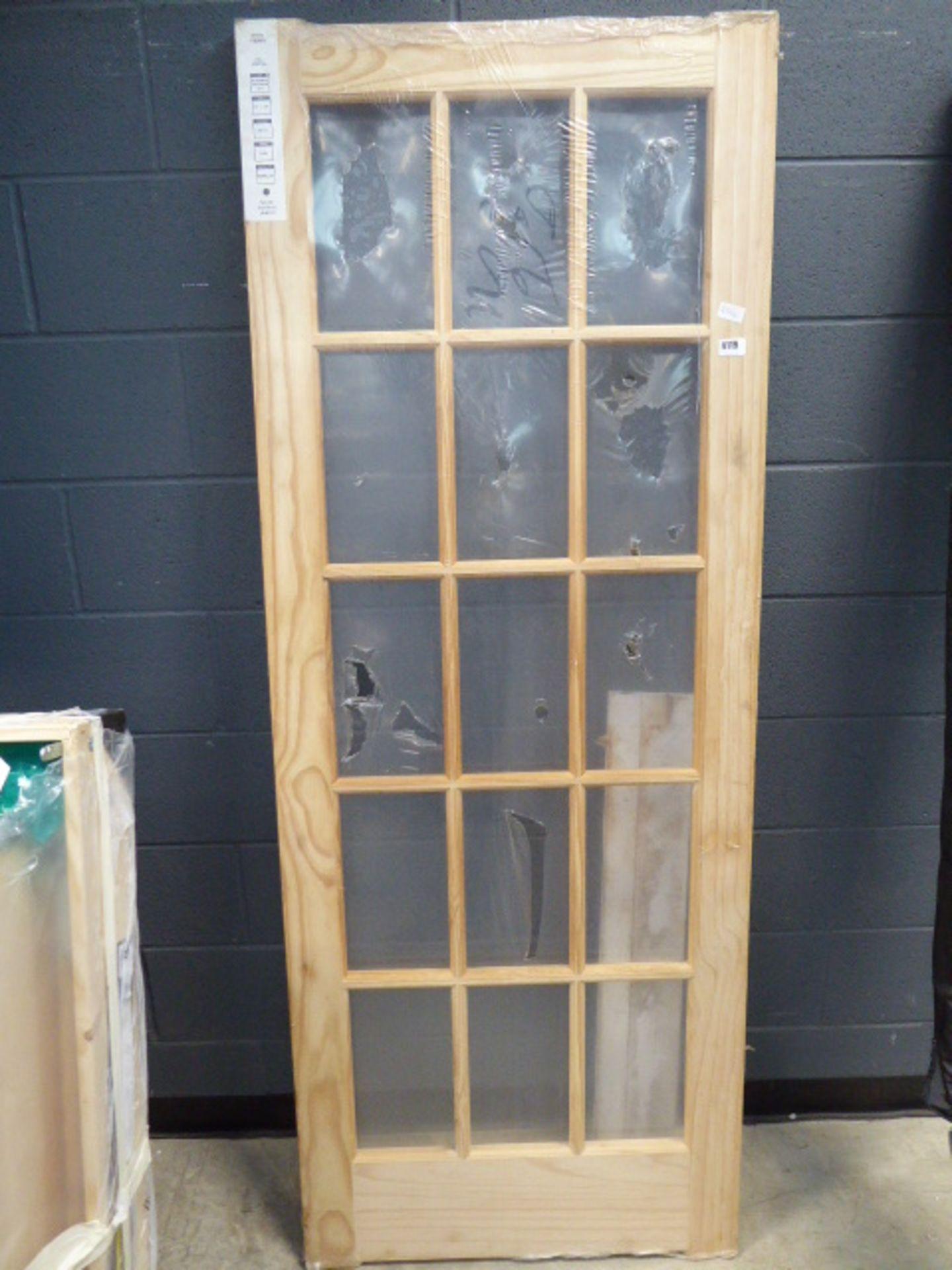 4131 - Pine unglazed internal door