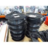 10 rolls of low noise dual cable