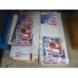 2 packs of flatpack racking